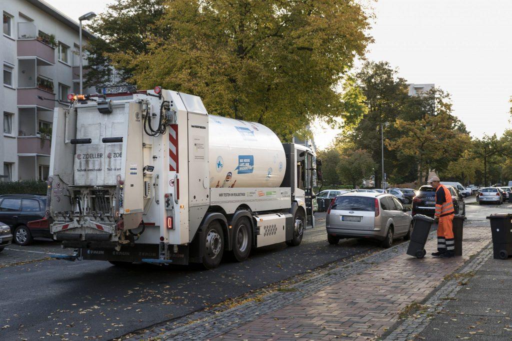 Dank Wasserstoff: Müllfahrzeuge angetrieben mit Müll Das Große H