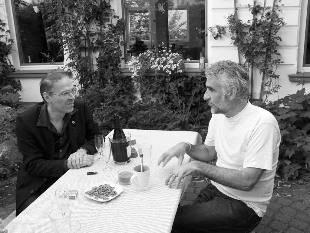 Max Dax und Ale Dumbsky im Gespräch