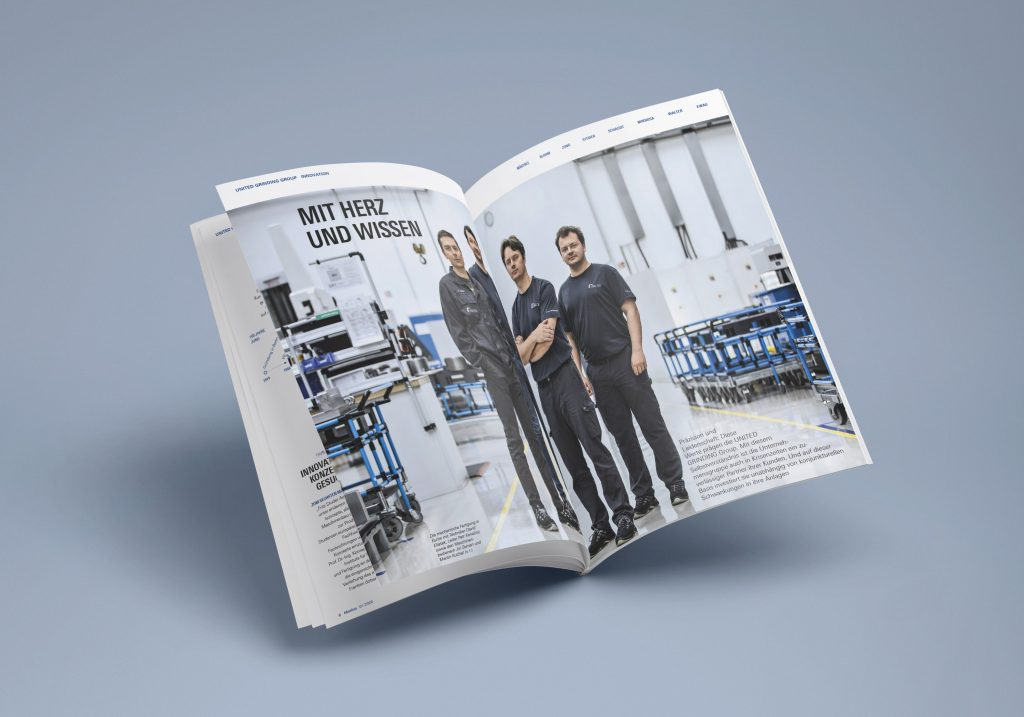 Kundenmagazine – Motion Magazin United Grinding